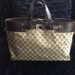 Gucci Extra Large Vintage Tote